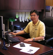 Jingxin Wang, Director of WVU's Wood Utilization Research (WUR) Project