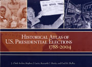 "The name of WVU professor Kenneth C. Martis is on the cover of the award-winning book he co-authored, ""Historical Atlas of U.S. Presidential Elections: 1788-2004.\"" The book combines history, geography and politics to map election outcomes for"