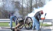 A historic cannon will be on hand during this year\'s Civil War Symposium April 14 at Erickson Alumni Center. Lee Miller, a resident of northern West Virginia and Civil War reenactor, will explain and demonstrate how Civil War artillery was transport