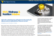 The WVU Student Recreation Center\'s popular Ask the Expert service has expanded its service by adding a blog to its question-and-answer approach to helping members become more healthy. Members will now be able to see answers to frequently-asked heal