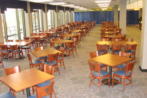Hatfields Restaurant In The WVU Mountainlair Received A Makeover During The  Summer As The Second Phase