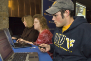 "Thousands of WVU students and employees signed up over the fall for the University\'s new Web-based notification system called ""WVU Alert.\"" The system primarily uses text messages to alert the campus community to time-sensitive informatio"