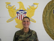 WVU graduate Kylee Turbish has learned how to translate team building skills learned during her college career in WVU\'s Mountaineer Battalion ROTC program to a future of dedicated service with the U.S. Army. Turbish, a May graduate who studied in WV