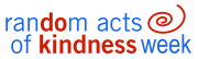 WVU's 2009 Random Acts of Kindness Week logo