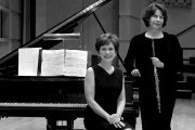 WVU music faculty Christine Kefferstan and Francesca Arnone
