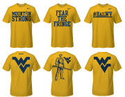 WVU 2013 Fan Shirt Choices