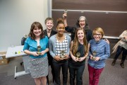 Hackathon Winners (Courtesy Reed College of Media)