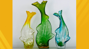 West Virginia Birthday Blenko Glass Collection