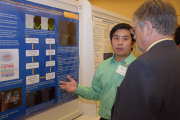 Tim Nguyen presents research