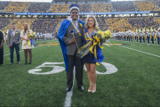2016 WVU Homecoming king and queen